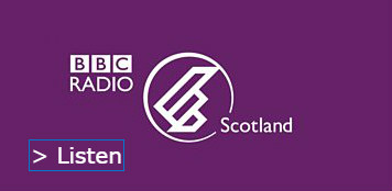 SallyAnn Kelly speaks on BBC Radio Scotland