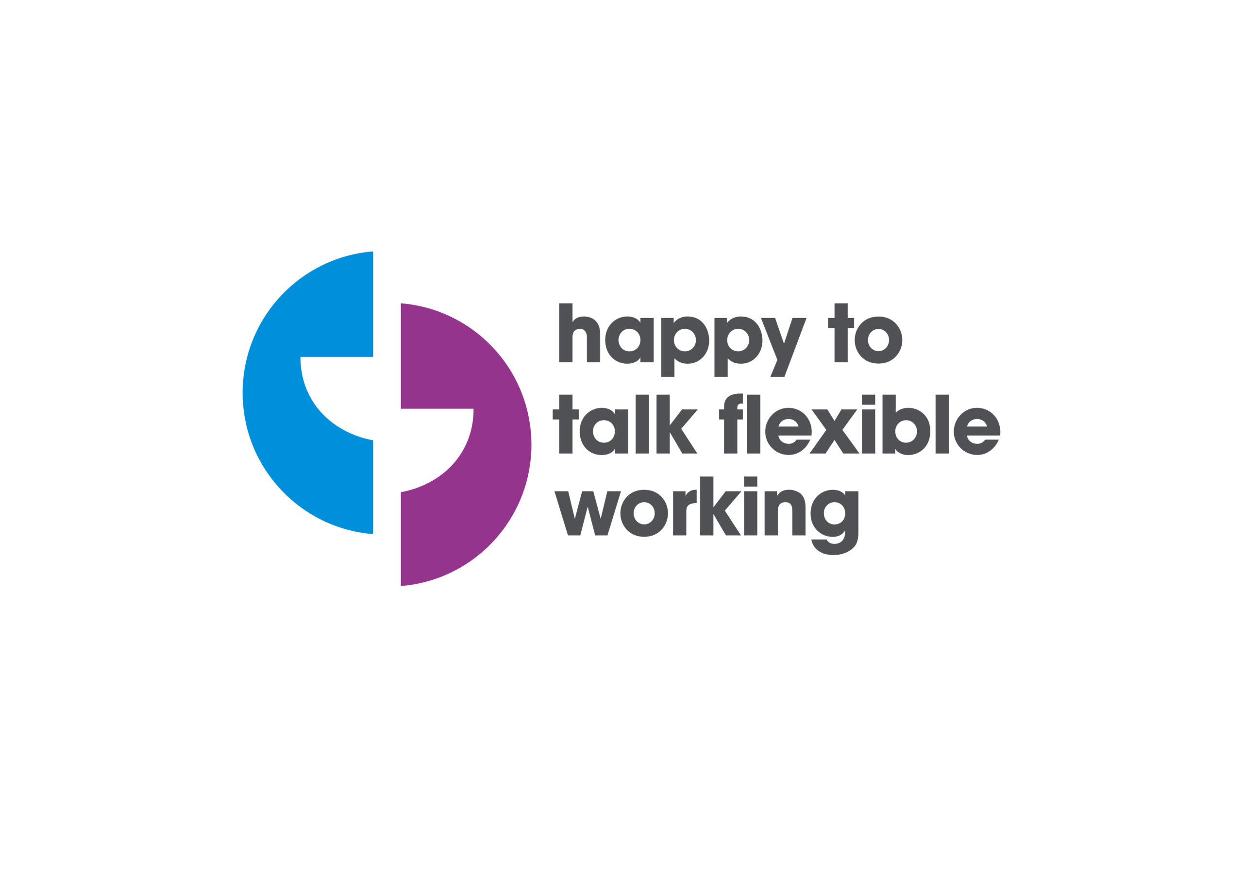 Happy to talk flex working